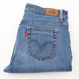 Levi's 515 Denim Capri